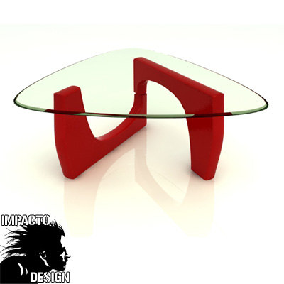 3d model modern table design