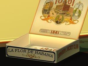 cigar box 3d max