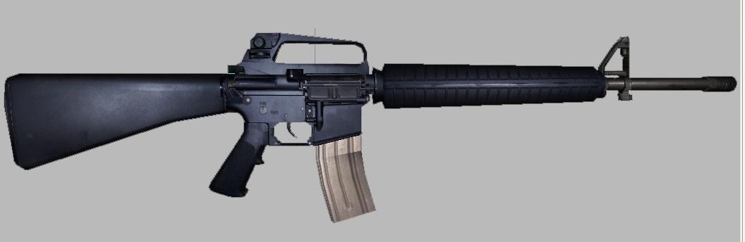 maya rifle combat