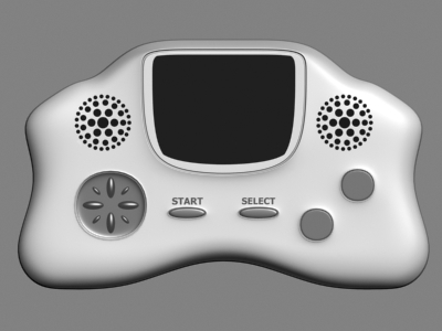 3ds max handheld console