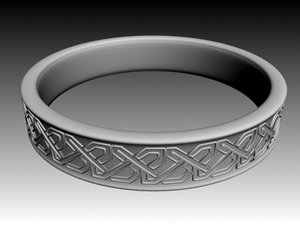3ds max ring celtic