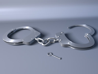 handcuffs police c4d