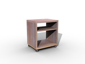 wooden cabinet 3d max