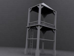 max watchtower outposts