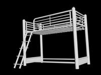 metal bunkbed 3d model