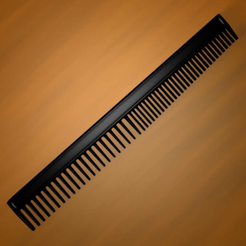 3d comb hairdresser