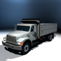 city truck dump 3d model