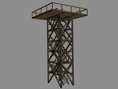 tower bf2 3d model