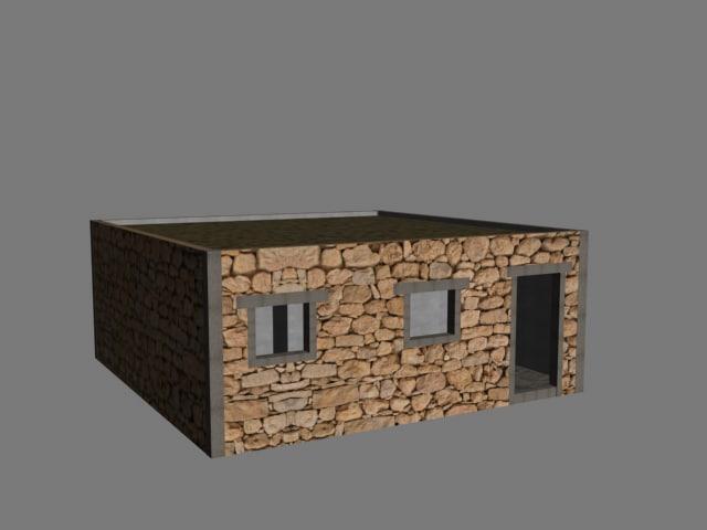 basic mec hut 3d 3ds