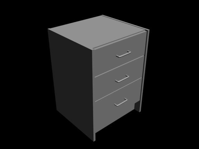 3d 3 drawers