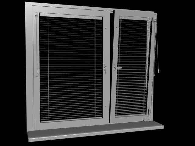 window blinds 3d model