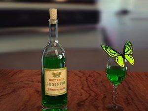 free max model absinthe