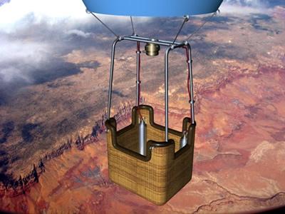 cinema4d hot air balloon
