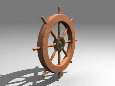 3ds max pilot wheel