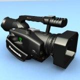 3d model panasonic dvx-100 video
