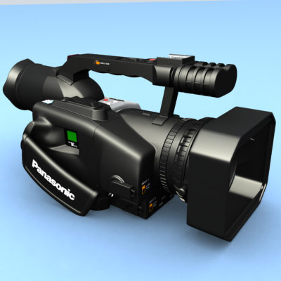 3d model panasonic dvx-100 video