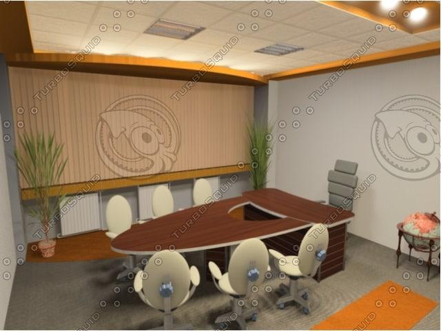 3d office lights