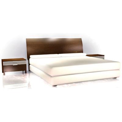 contemporary bedroom 3d max