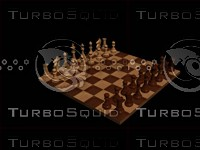 3dsmax chessboard pieces