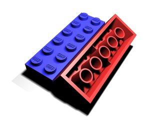 lego brick 3ds