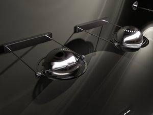 lamps illuminantion 3d model