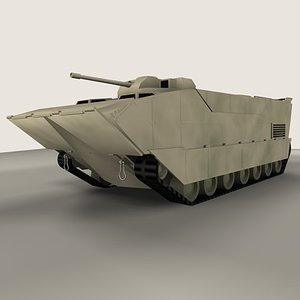 3d expeditionary fighting vehicle model