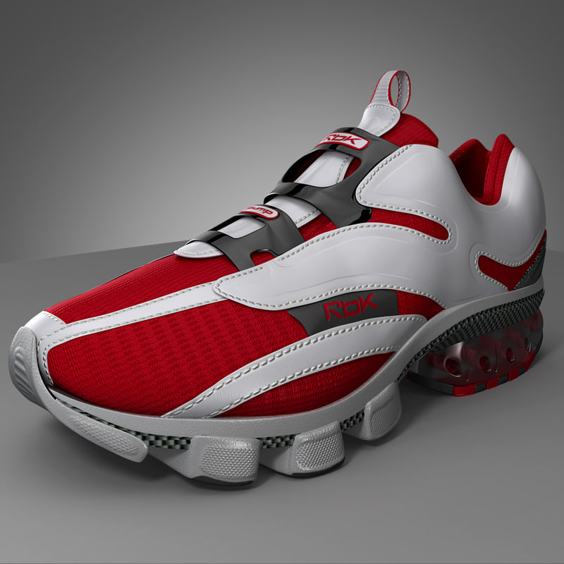 running shoes 3d model