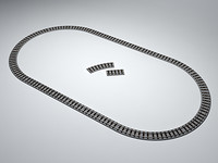 RAILWAY TRACK SET O-G SCALE [MODEL: VD-OGA]
