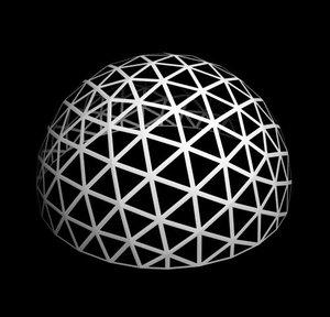 honeycomb structure 3d model