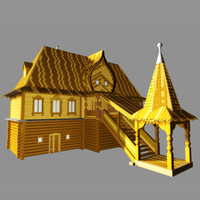 3ds max russian palace toon