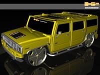 hummers 3d model