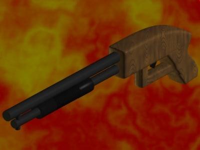 shotgun gun 3ds