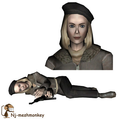 ready female resistance fighter max