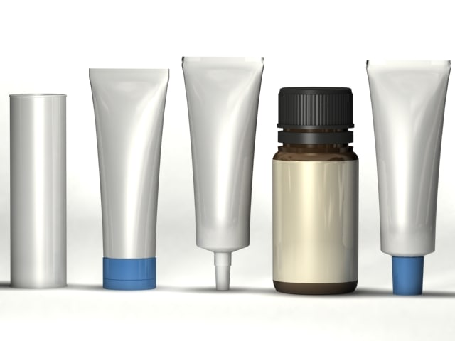 tubes bottle 3ds