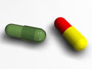 3ds max pills capsul