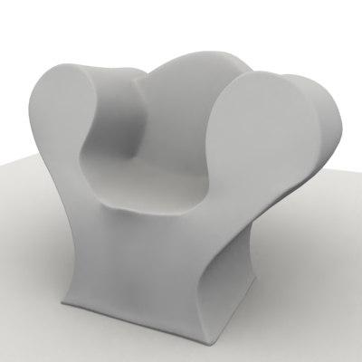 sofa big easy 3d model