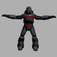 3d dark space trooper