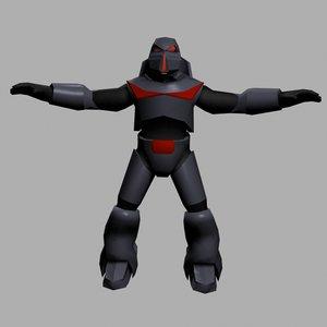 3d dark space trooper
