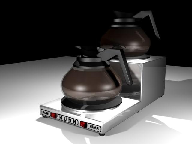 3d coffee warmer model