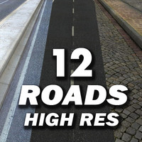 12 Roads Textures Collection -------------  High Resolution .zip