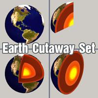 Earth Cutaway Set