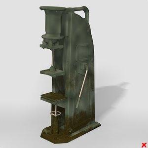 press 3d model