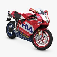 fila bike 3d model