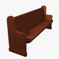 le corbusier leather sofa 3ds