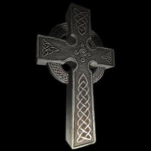 3d celtic cross