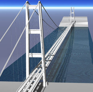 3ds strait messina bridge