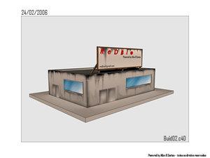 free store 3d model
