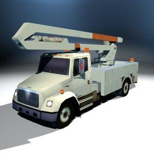bucket truck 3ds
