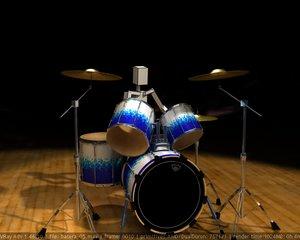 maya drum percussion