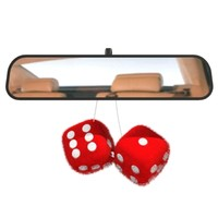 furry dice car 3d model